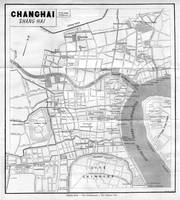 Vintage Map of Shanghai China (1912)