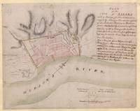 Vintage Map of Albany New York (1756)