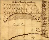 Old Alexandria VA Map by George Washington (1749)