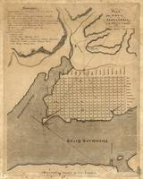 Vintage Map of Alexandria Virginia (1798)