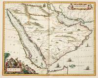 Vintage Map of Saudi Arabia (1662)