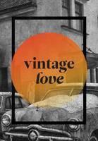Vintage Love Wall Art