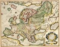 Vintage Map of Europe (1596)