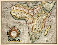 Vintage Map of Africa (1596)