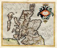 Vintage Map of Scotland (1596)