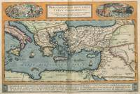 Vintage Map of The Mediterranean (1584)
