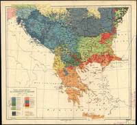 Vintage Map of The Balkans (1918)