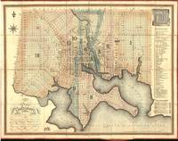 Vintage Map of Baltimore Maryland (1822)