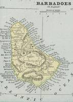Vintage Map of Barbados (1901)