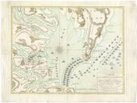 Vintage Map of The Battle of Yorktown (1781)