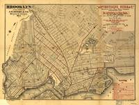 Vintage Map of Brooklyn New York (1874)