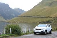 Lake Mohanda and White Car
