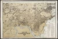 Vintage Map of Cambridge Massachusetts (1877)