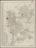 Vintage Map of Camden NJ (1921)