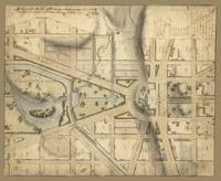 Vintage Washington D.C. Capitol Hill Map (1815)