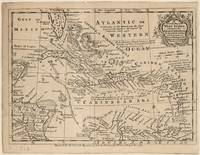 Vintage Map of The Caribbean (1763)