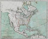 Vintage Map of North America (1743)