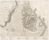 Vintage Map of Odessa Ukraine (1827)
