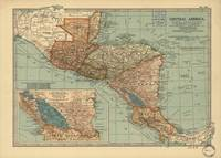 Vintage Map of Central America (1902)