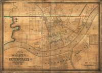 Vintage Map of Cincinnati Ohio (1838)