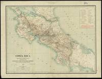 Vintage Map of Costa Rica (1903)