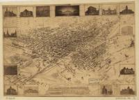 Vintage Pictorial Map of Denver CO (1881)