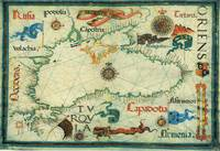 Vintage Map of The Black Sea (1559)
