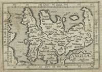 Vintage Map of England (1603)