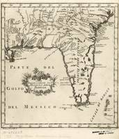 Vintage Map of Florida (1763) 2