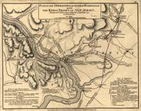 George Washington Trenton NJ Battlefield Map 1777
