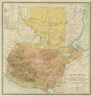 Vintage Map of Guatemala (1902)