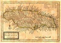 Vintage Map of Jamaica (1771)