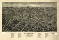 Vintage Pictorial Map of High Point NC (1913)