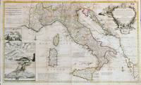Vintage Map of Italy (1714)