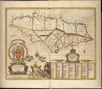 Vintage Map of Jamaica (1672)