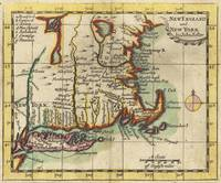 Vintage New England & Long Island Map (1703)