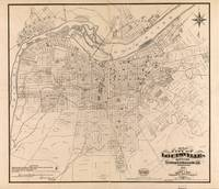 Vintage Map of Louisville Kentucky (1873)