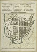 Vintage Map of Lower Manhattan (1764)