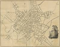 Vintage Map of Birmingham England (1809)