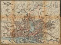 Vintage Hamburg Railway Map (1910)