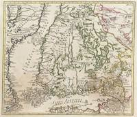 Vintage Map of Finland (1740s)