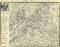 Vintage Map of Geneva Switzerland (1825)