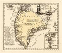 Vintage Map of Greenland (1791)