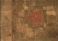Vintage Map of Mexico City Mexico (1800)