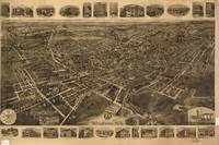 Vintage Pictorial Map of Middletown NY (1921)