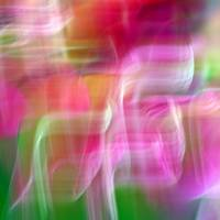 Mystic Color Abstract Square #3