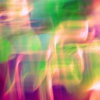 Mystic Color Abstract Square #1