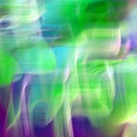 Mystic Color Abstract Square #4