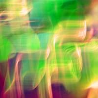 Mystic Color Abstract Square  #2