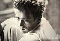 JAMES DEAN-BLACK AND WHITE